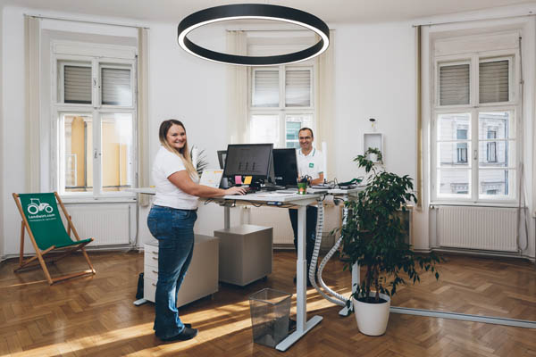 Gemütliche Büros