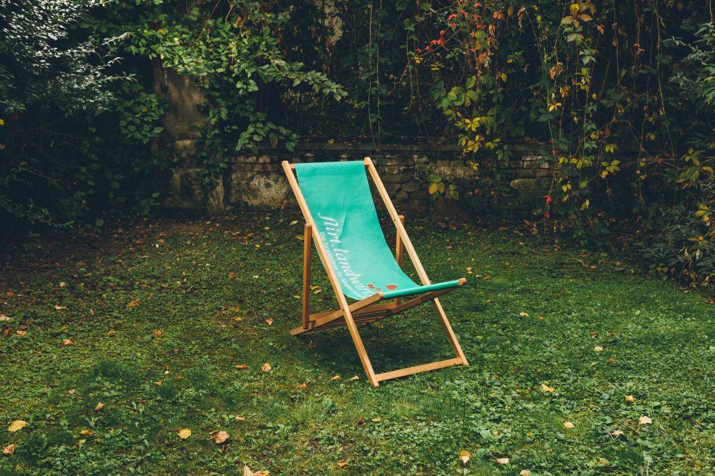 Garten mit Ruhezone :)